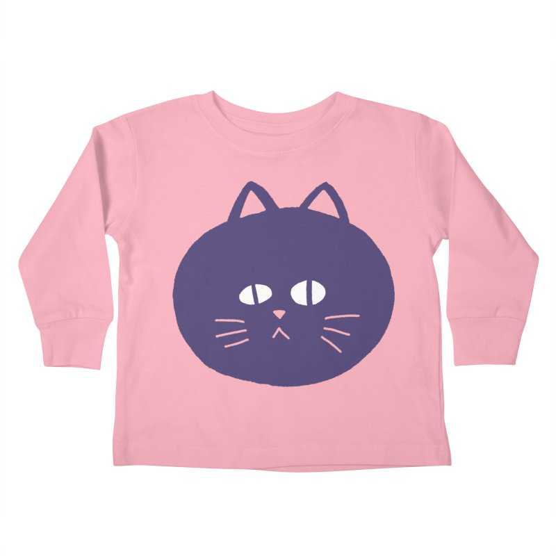 Meow Kids Toddler Longsleeve T-Shirt by Luis Romero