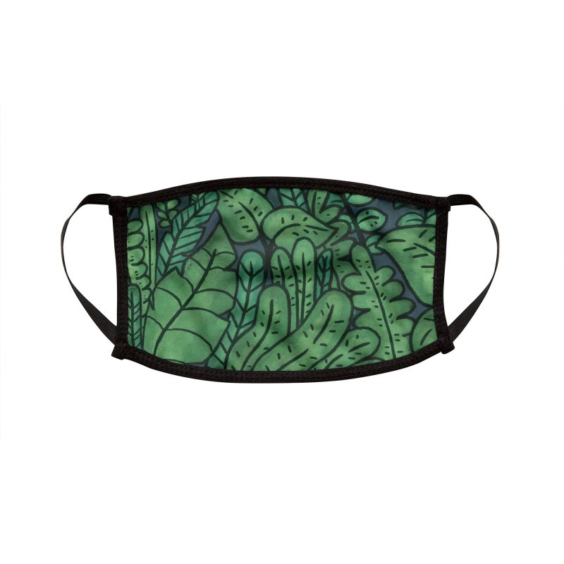 Plants Accessories Face Mask by Luis Romero