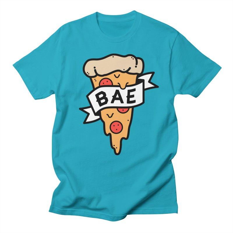 Pizza Bae Women's Regular Unisex T-Shirt by Luis Romero Shop