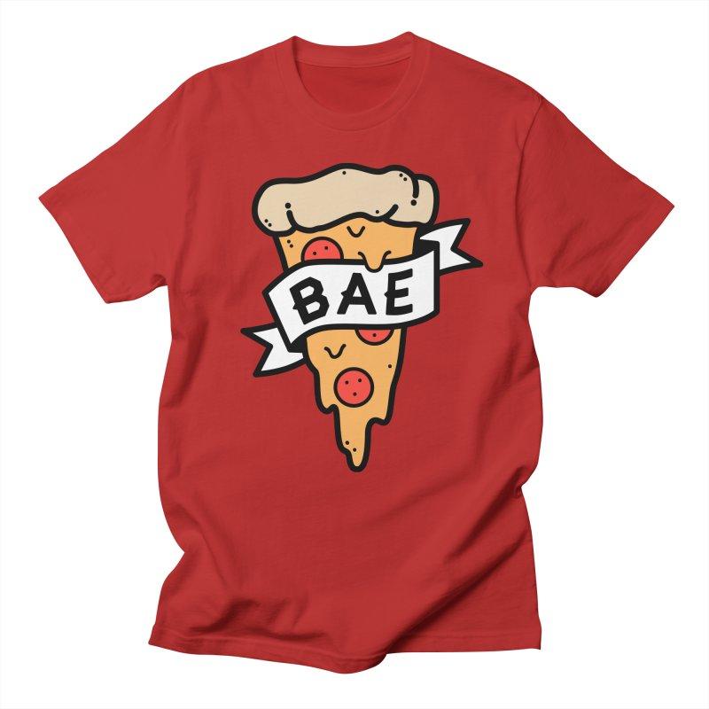 Pizza Bae Men's T-shirt by lxromero