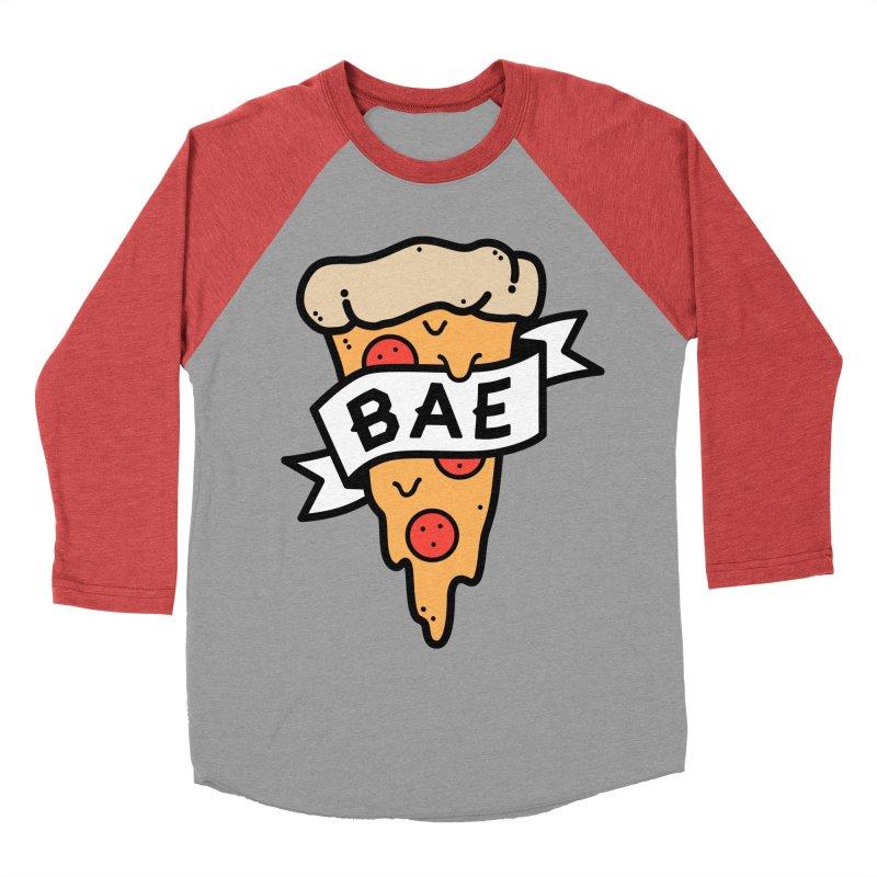Pizza Bae Women's Baseball Triblend T-Shirt by lxromero