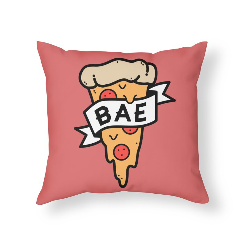 Pizza Bae Home Throw Pillow by Luis Romero Shop
