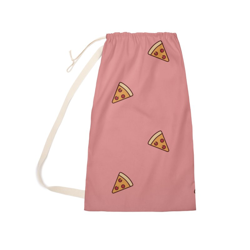 Pizza Party Accessories Laundry Bag Bag by Luis Romero Shop