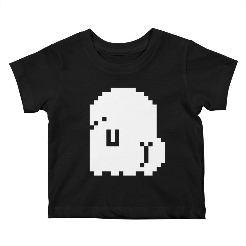 Booty (8-Bit) Kids Baby T-Shirt by Luis Romero