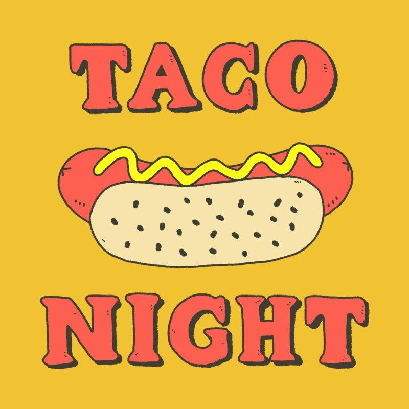 Taco Night Kids Baby T-Shirt by Luis Romero