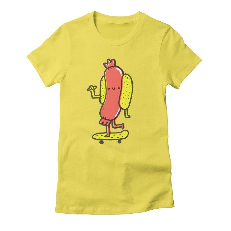 Hawt Dawg Women's T-Shirt by Luis Romero