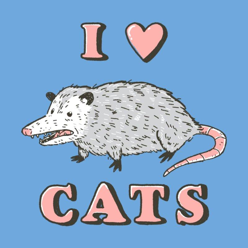I heart cats Kids Baby T-Shirt by Luis Romero
