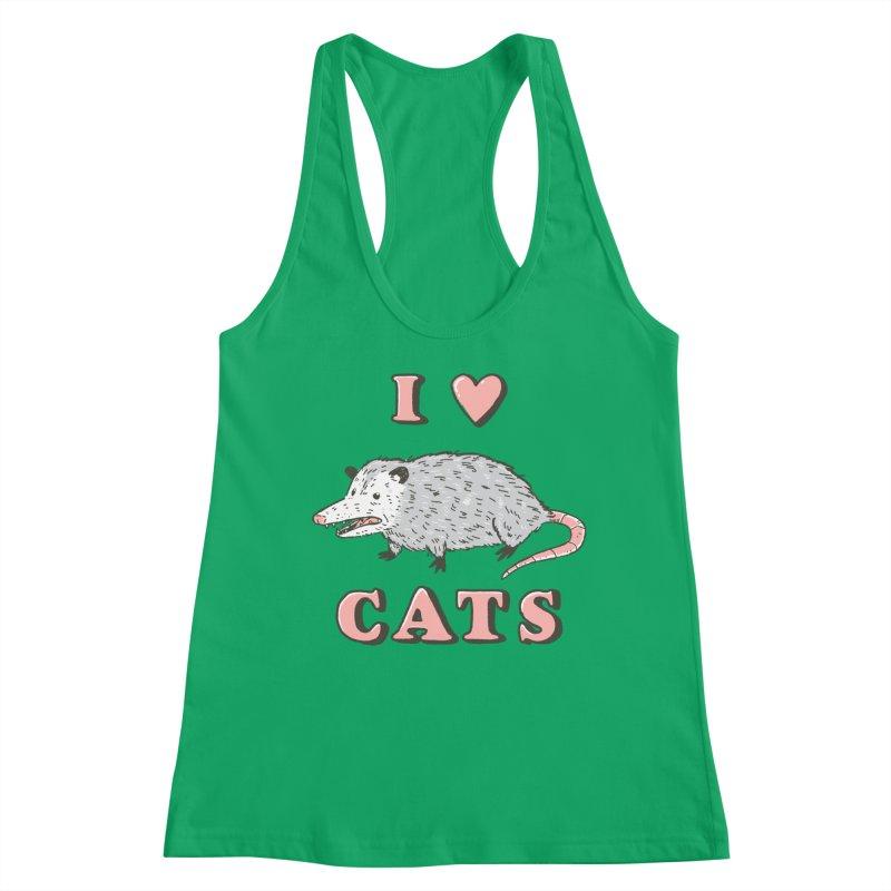 I heart cats Women's Tank by Luis Romero