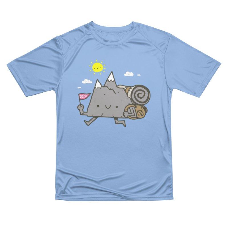Wander Men's T-Shirt by Luis Romero