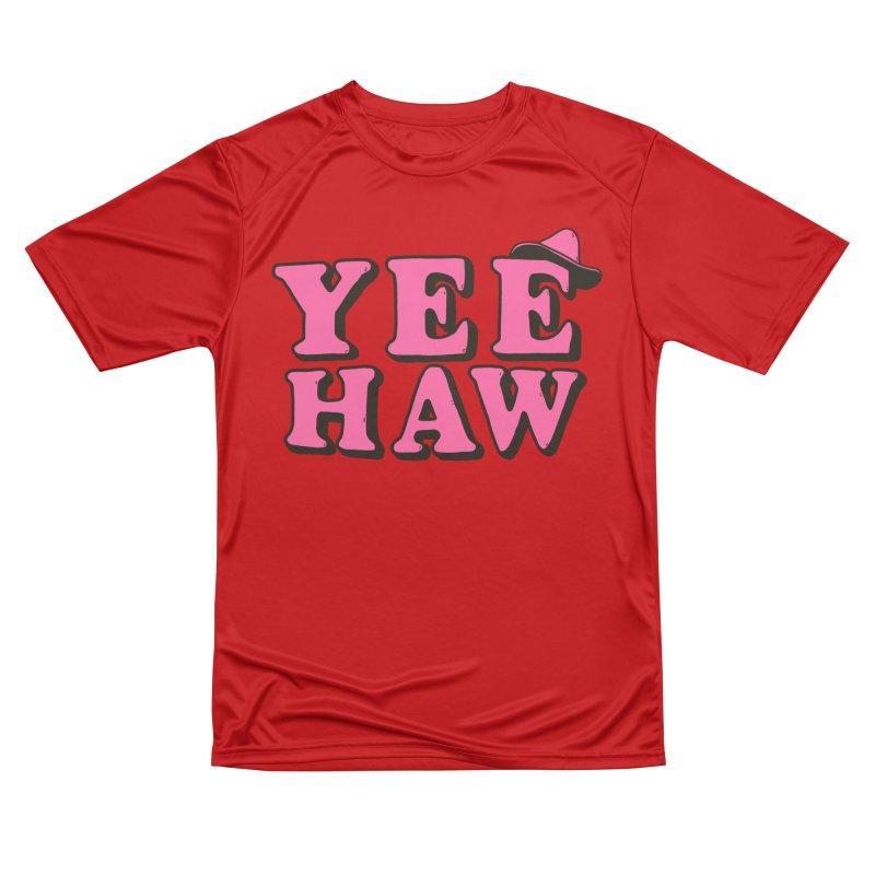 Yee-haw Men's T-Shirt by Luis Romero