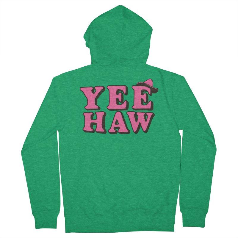 Yee-haw Women's Zip-Up Hoody by Luis Romero