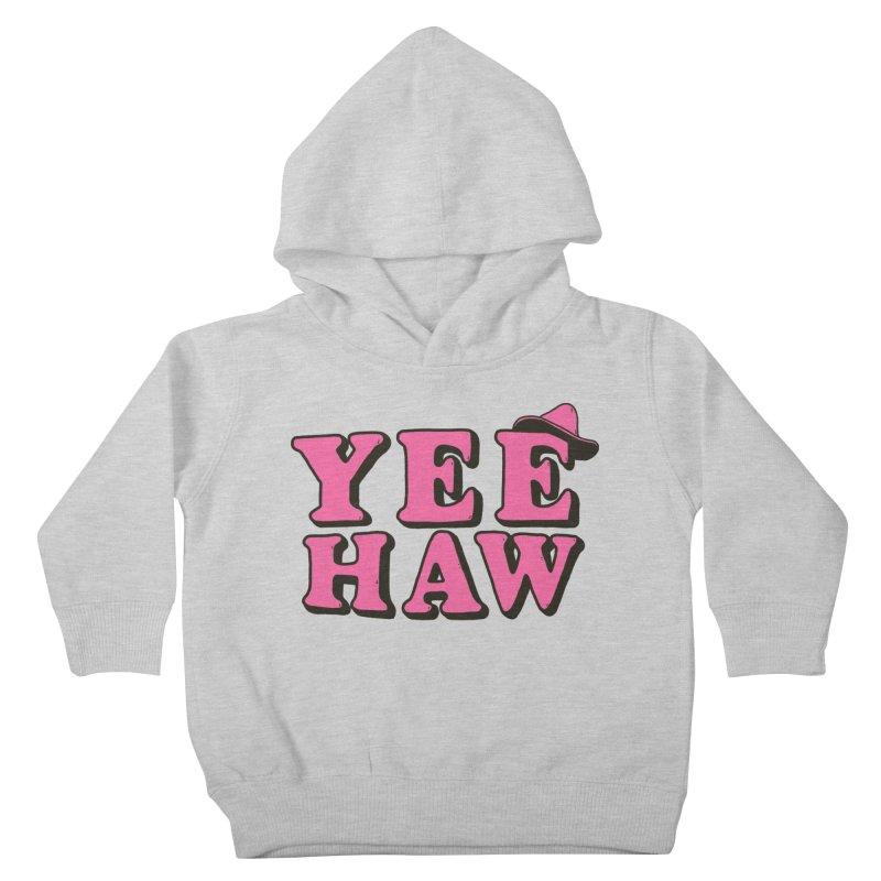 Yee-haw Kids Toddler Pullover Hoody by Luis Romero