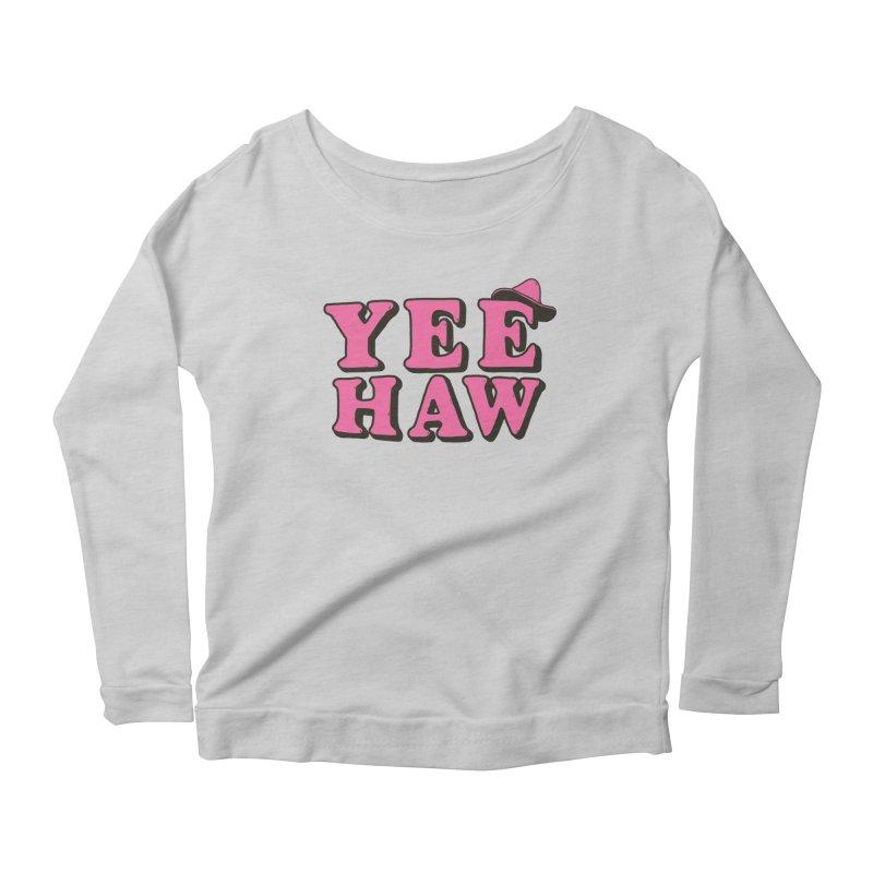Yee-haw Women's Longsleeve T-Shirt by Luis Romero