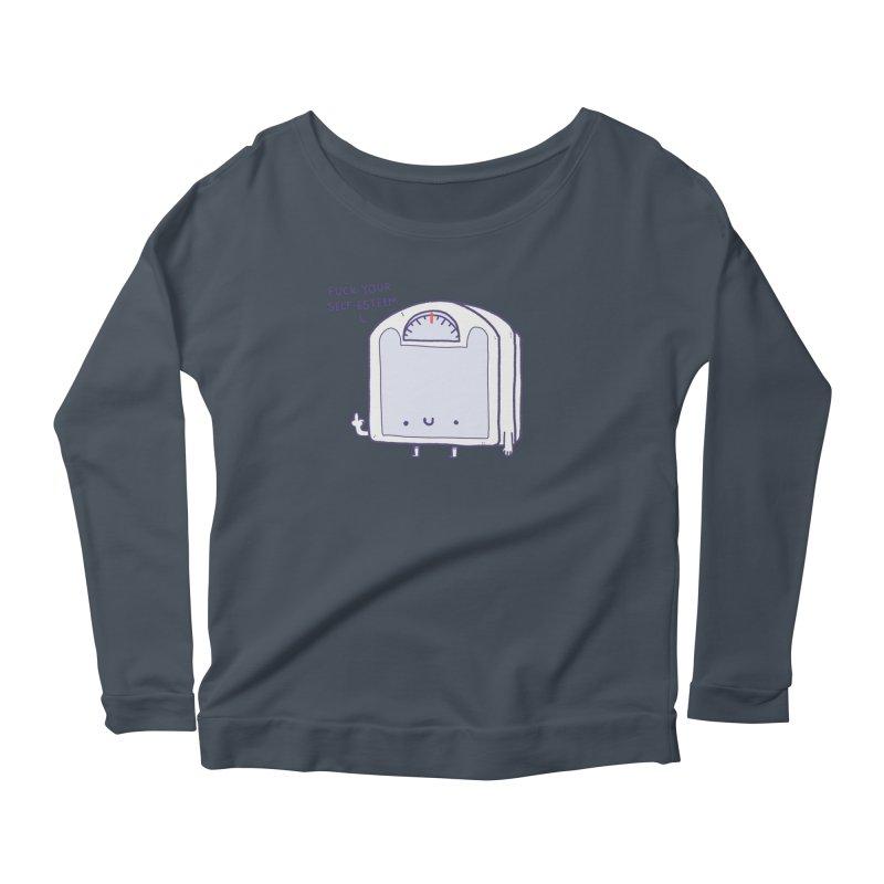 Self-esteem Women's Longsleeve T-Shirt by Luis Romero