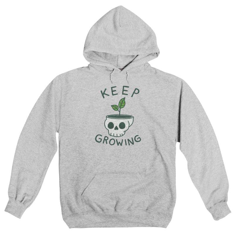 Keep Growing Men's Pullover Hoody by Luis Romero