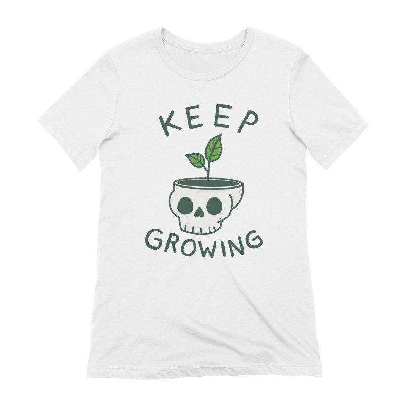 Keep Growing Women's T-Shirt by Luis Romero