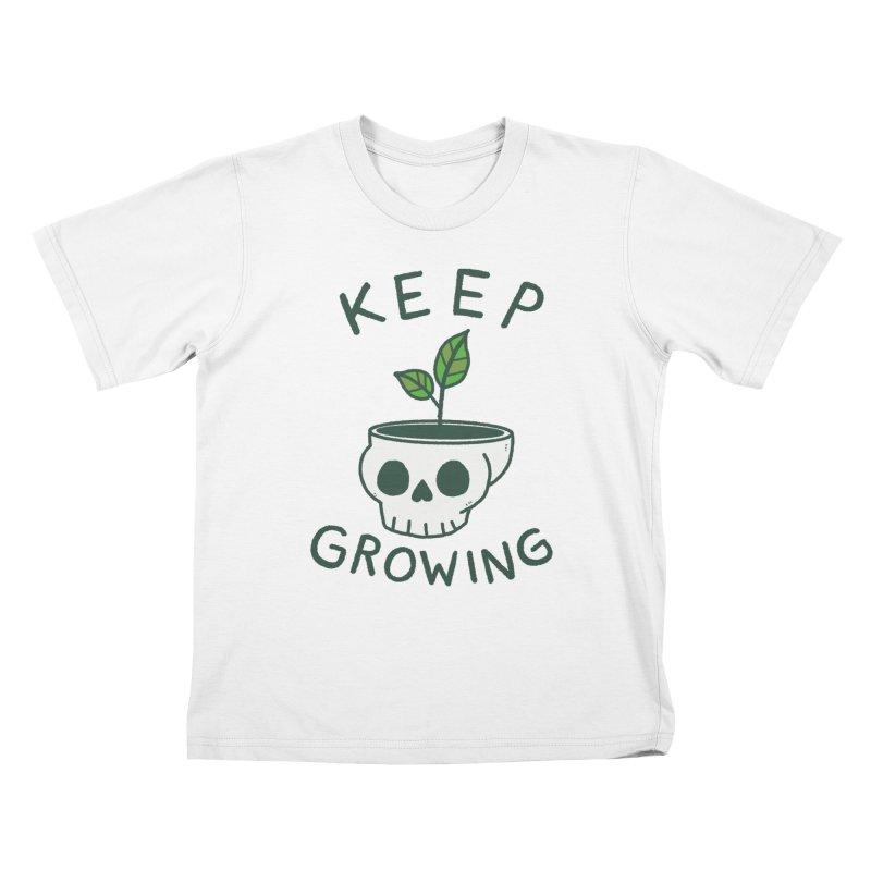 Keep Growing Kids T-Shirt by Luis Romero