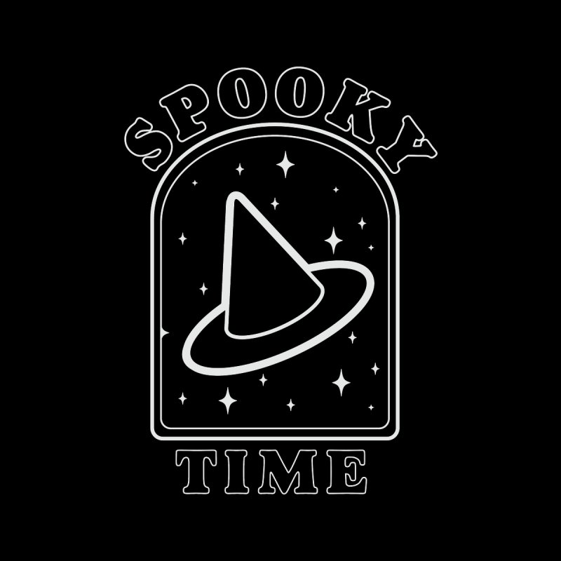 Spooky Time Accessories Face Mask by Luis Romero