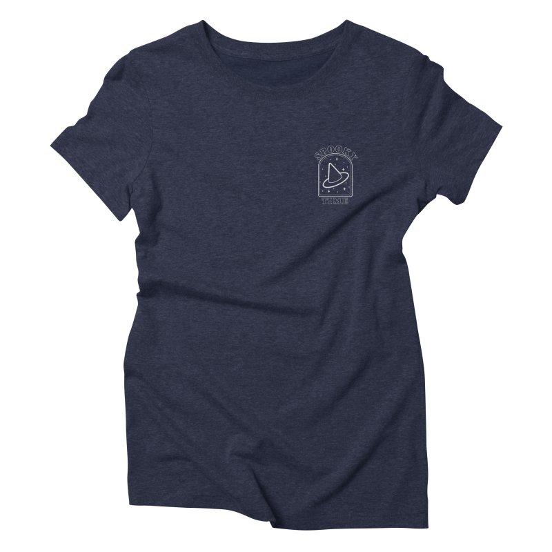 Spooky Time Women's T-Shirt by Luis Romero