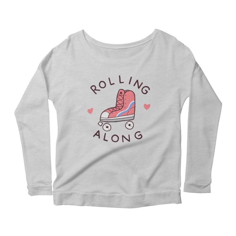 Rolling along Women's Longsleeve T-Shirt by Luis Romero