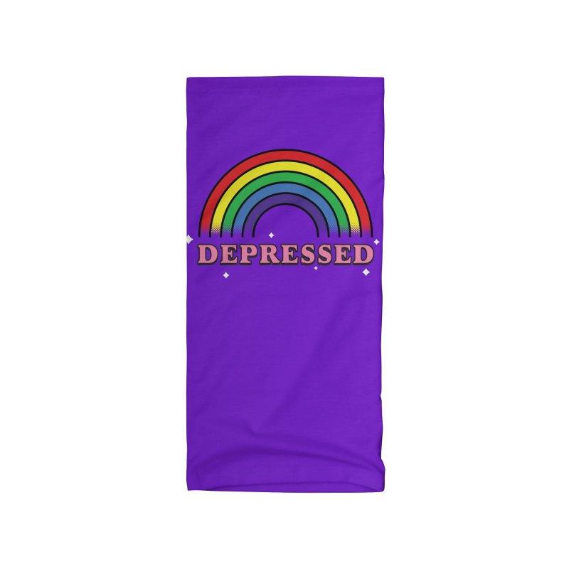 Depressed Accessories Neck Gaiter by Luis Romero