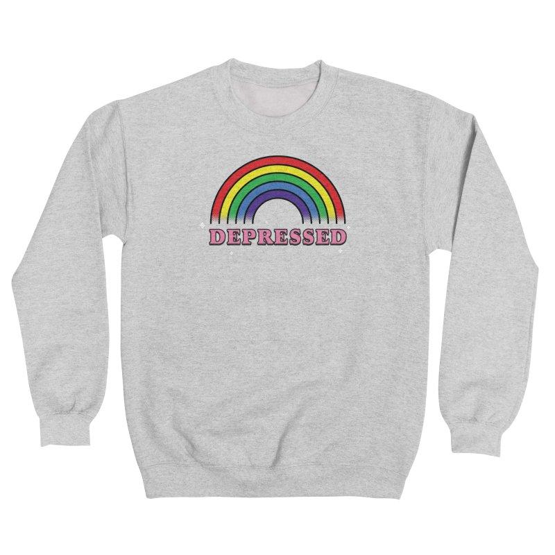 Depressed Men's Sweatshirt by Luis Romero