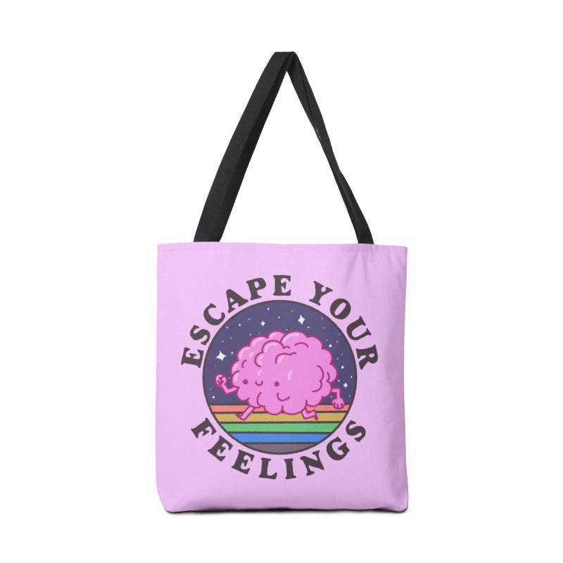 Escape your feelings Accessories Bag by Luis Romero