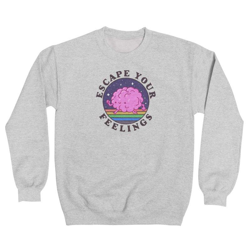 Escape your feelings Men's Sweatshirt by Luis Romero