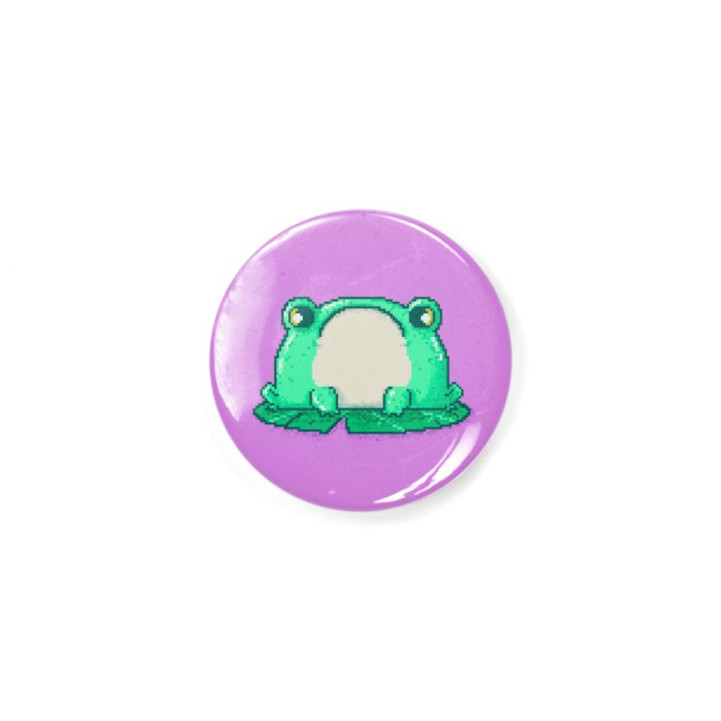 Frog Accessories Button by Luis Romero