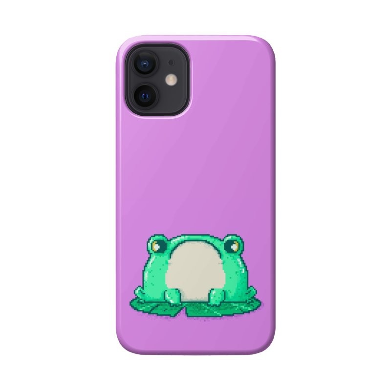 Frog Accessories Phone Case by Luis Romero