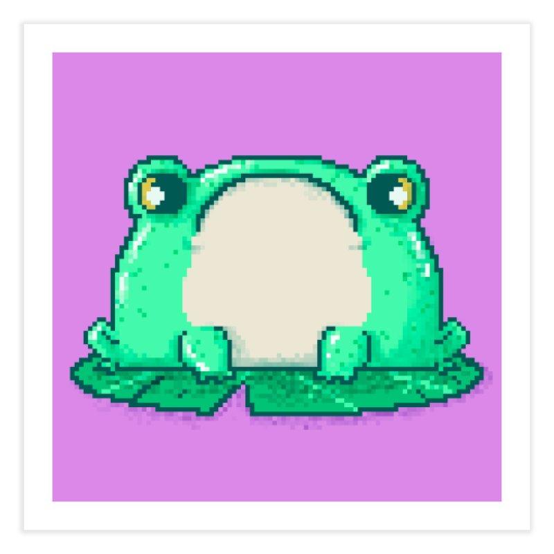 Frog Home Fine Art Print by Luis Romero