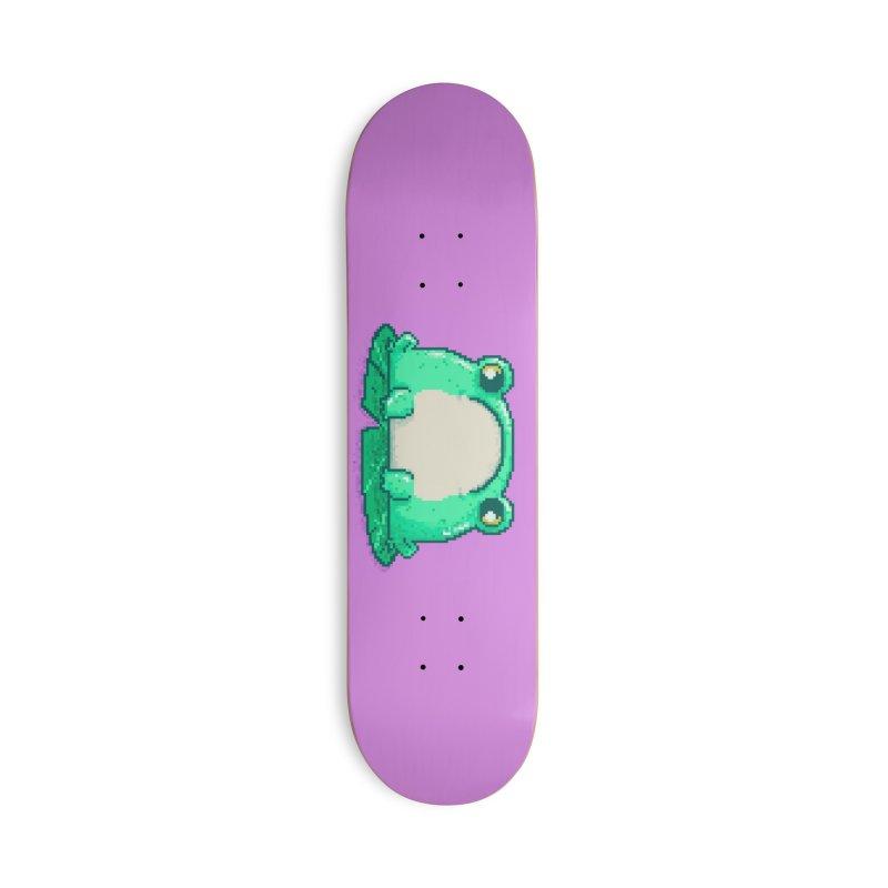 Frog Accessories Skateboard by Luis Romero