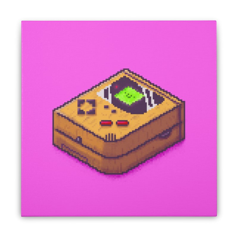 Isometric gaming Home Goods Stretched Canvas by Luis Romero