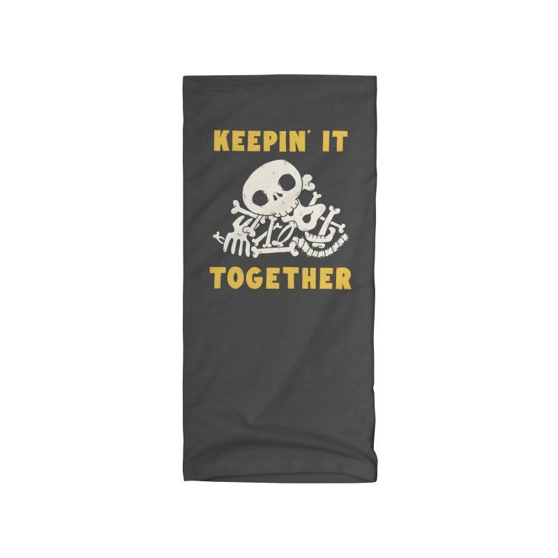 Keepin it together Accessories Neck Gaiter by Luis Romero