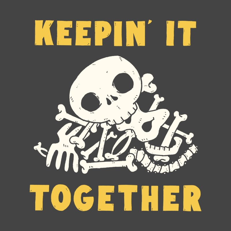 Keepin it together Kids T-Shirt by Luis Romero