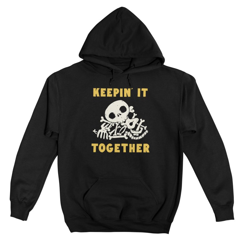 Keepin it together Men's Pullover Hoody by Luis Romero
