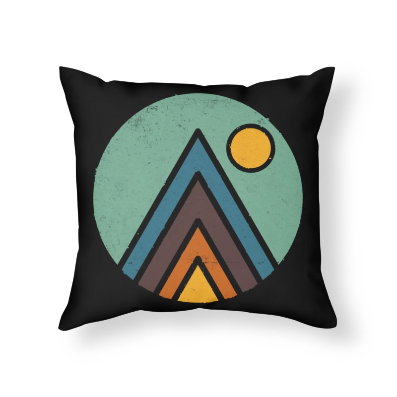MiniScape Home Throw Pillow by Luis Romero