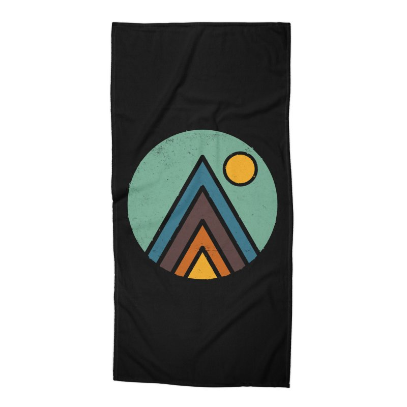 MiniScape Accessories Beach Towel by Luis Romero
