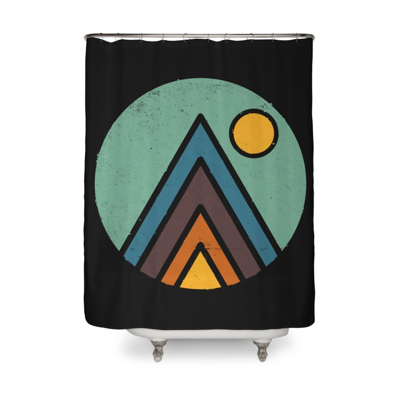 MiniScape Home Shower Curtain by Luis Romero