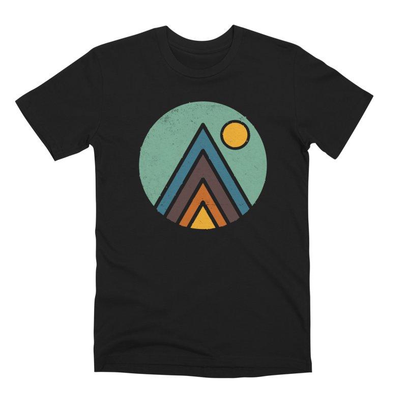 MiniScape in Men's Premium T-Shirt Black by Luis Romero Shop