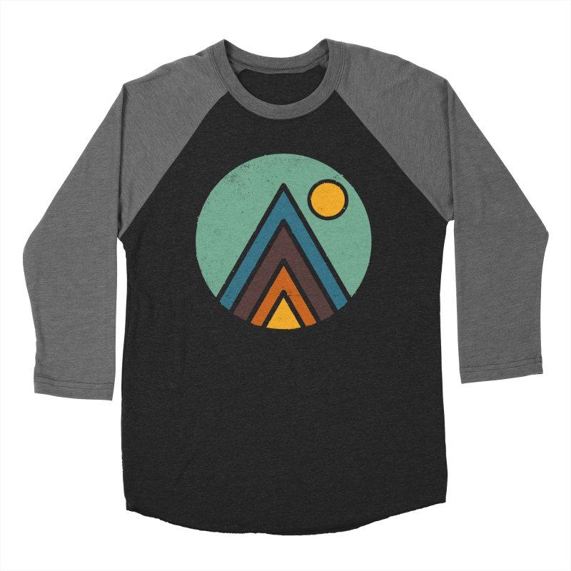 MiniScape Women's Baseball Triblend Longsleeve T-Shirt by Luis Romero Shop