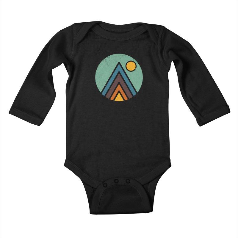 MiniScape Kids Baby Longsleeve Bodysuit by lxromero
