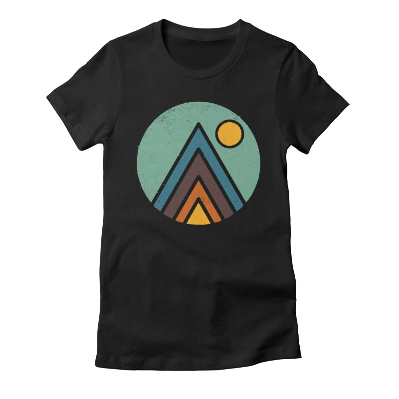 MiniScape Women's Fitted T-Shirt by lxromero