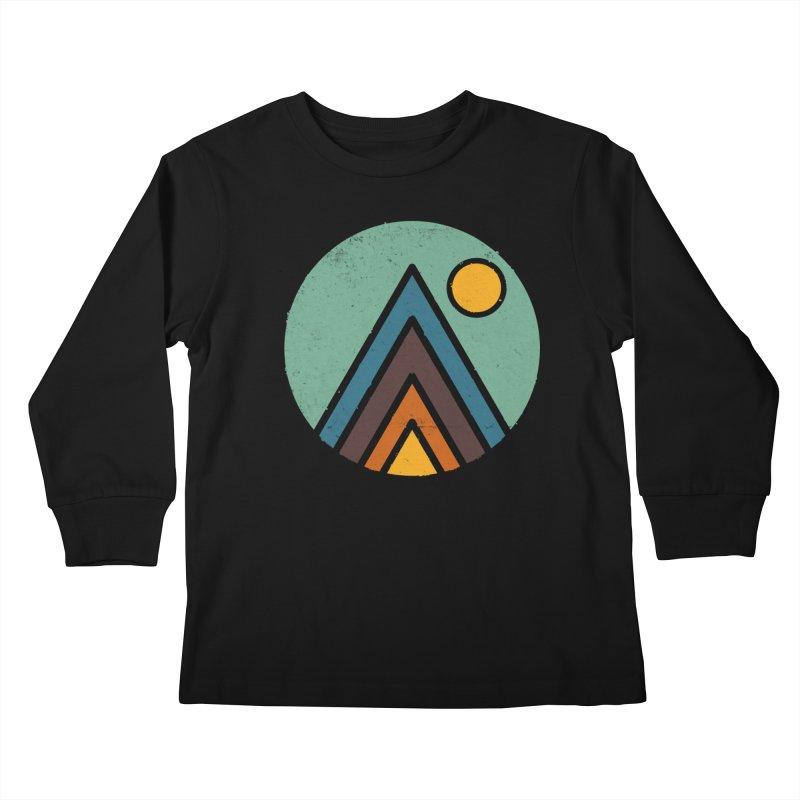 MiniScape Kids Longsleeve T-Shirt by lxromero