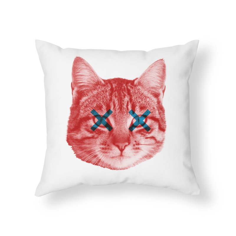 Dead and Alive Home Throw Pillow by Luis Romero