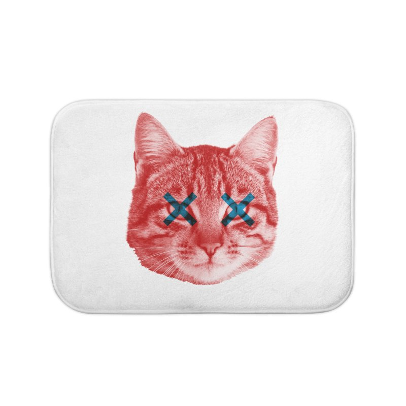 Dead and Alive Home Bath Mat by Luis Romero