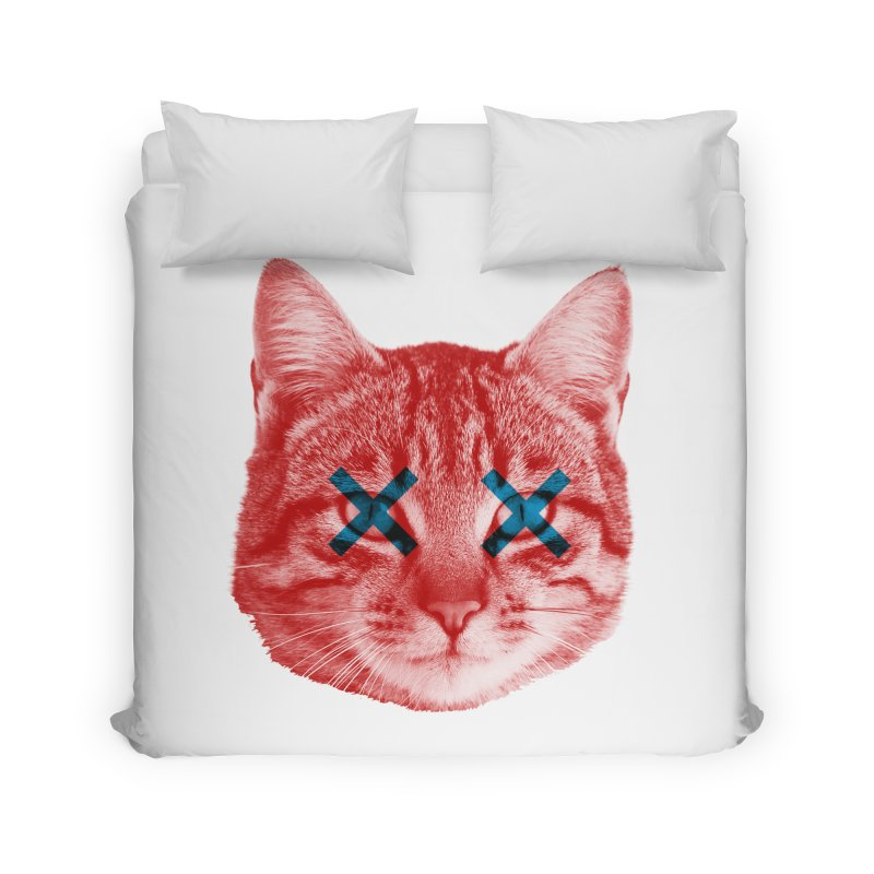 Dead and Alive Home Duvet by lxromero
