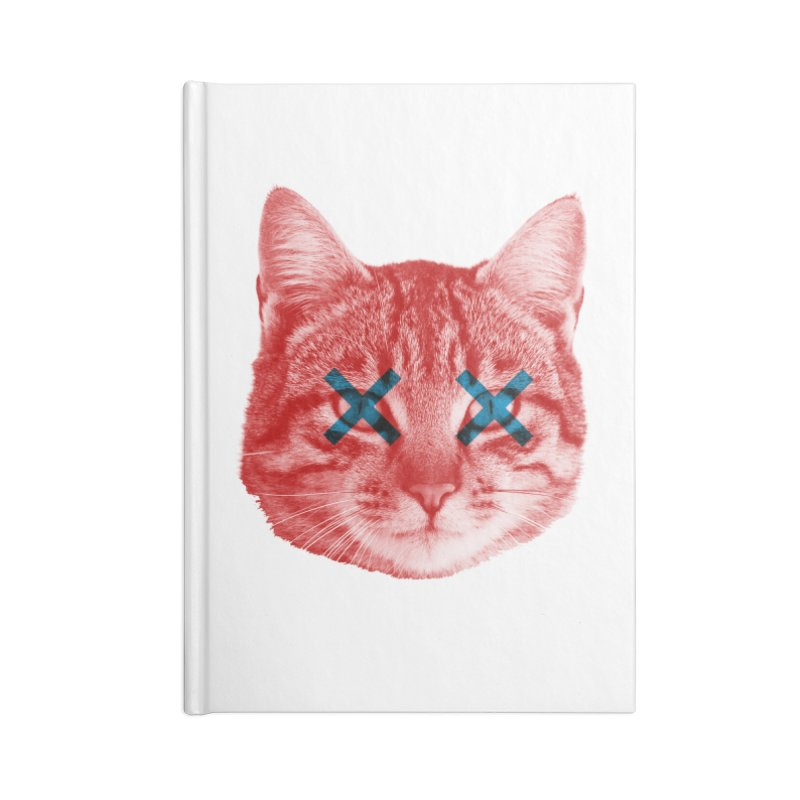 Dead and Alive Accessories Lined Journal Notebook by Luis Romero Shop
