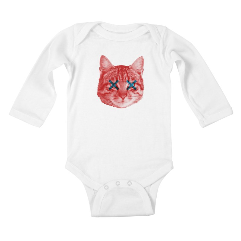 Dead and Alive Kids Baby Longsleeve Bodysuit by Luis Romero Shop