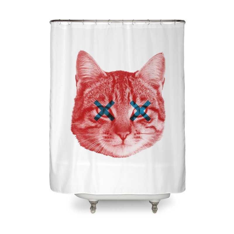 Dead and Alive Home Shower Curtain by Luis Romero